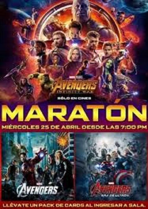 2138a5d48 Avengers Maraton 2019 v kinech, trailer k filmu | Multikina.cz
