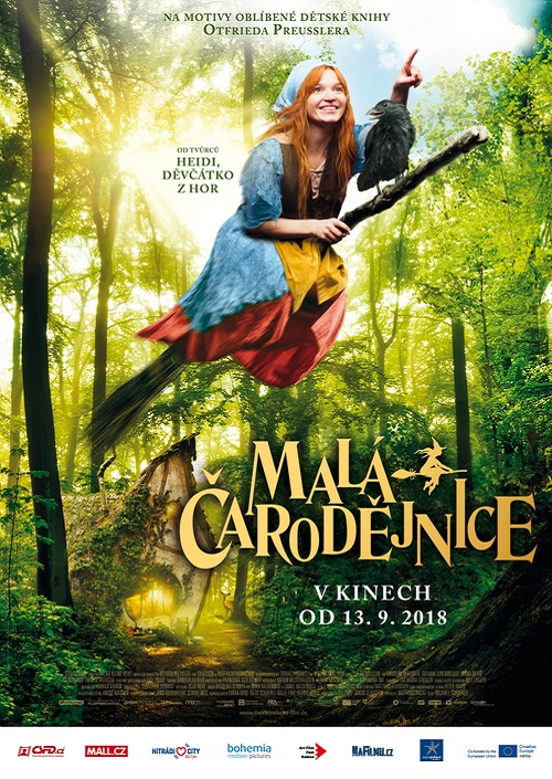 Výsledek obrázku pro malá čarodějka v kině