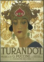 film Turandot / Giacomo Puccini program kin a trailer